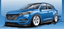 Hyundai-Tucson-Bisimoto-front-SEMA-SHOW-2015