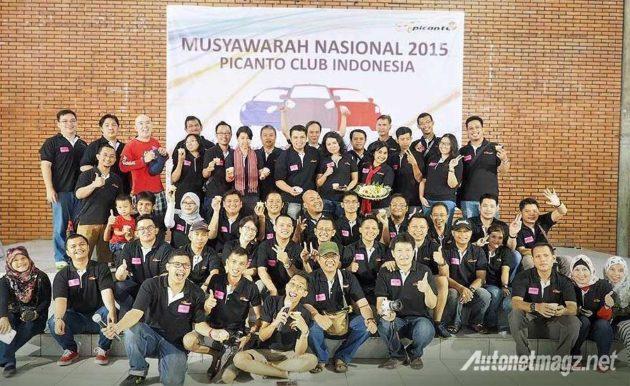 MuNas Musyawarah Nasional PiCA Picanto Club Indonesia 2015