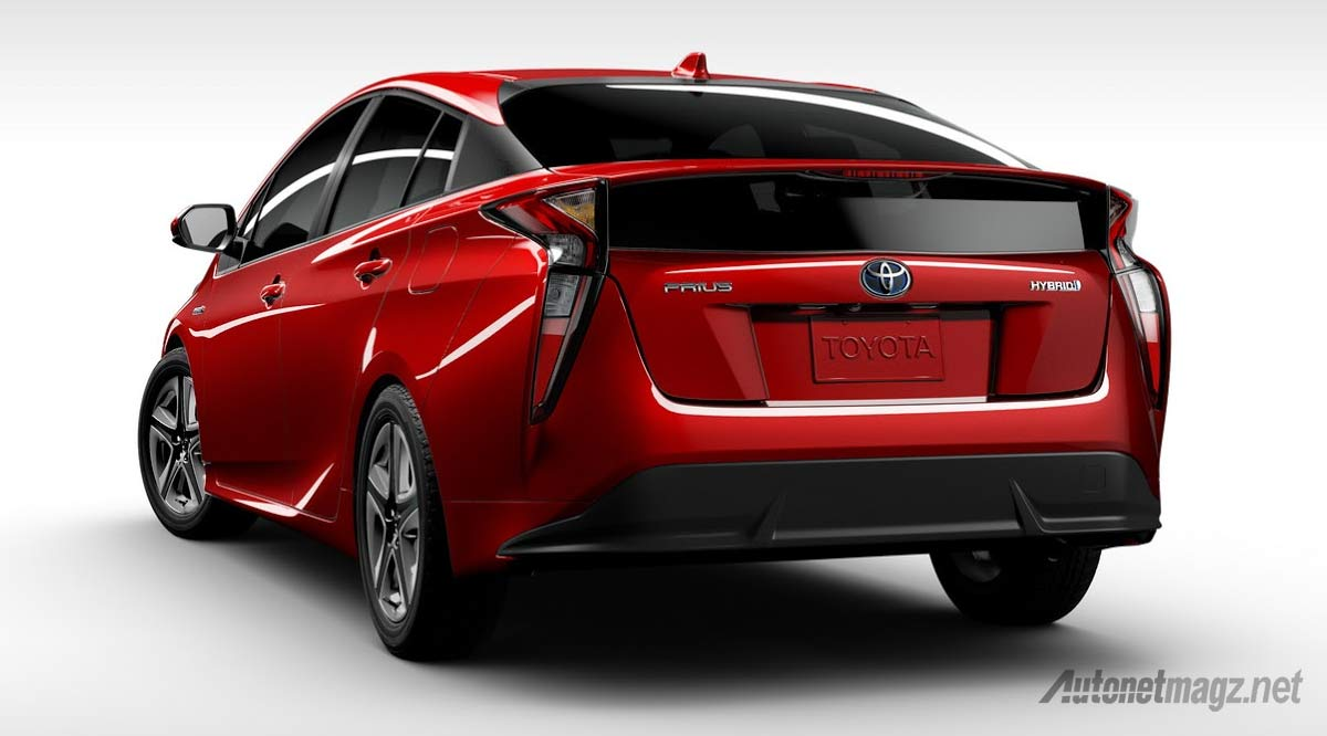 New Toyota Prius >> All New Toyota Prius Rear Autonetmagz Review Mobil Dan