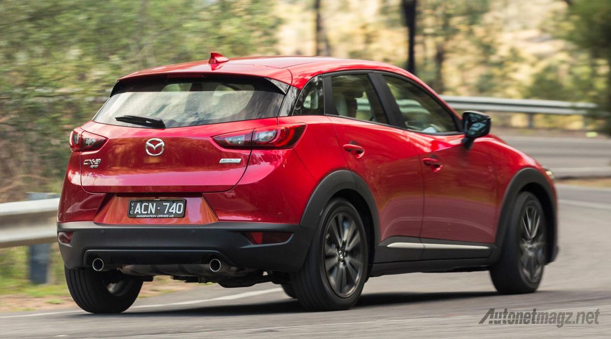 Berita, mazda-cx-3-rear: Kebanjiran Pesanan, Mazda CX-3 Segera Diproduksi di Thailand