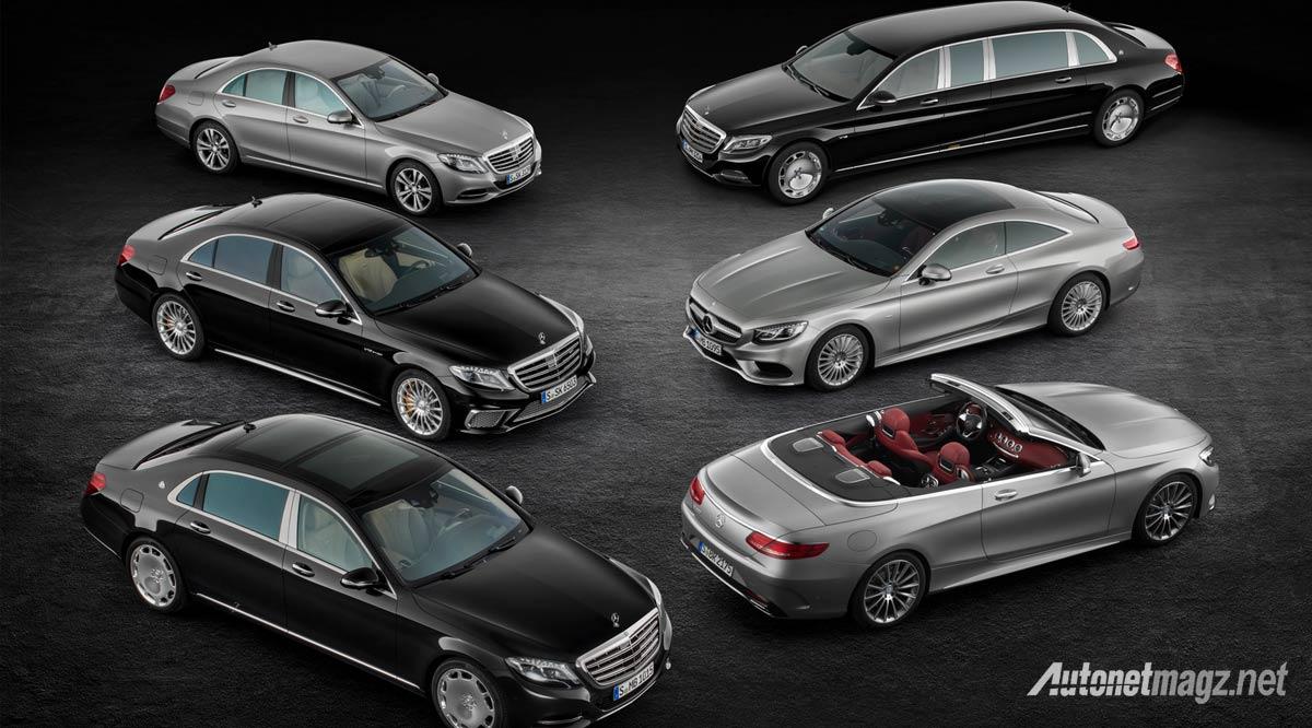 Berita, mercedes-benz-s-class-line-up: Mercedes Benz S Class Cabriolet Akhirnya Dirilis : Top Down, Level Up