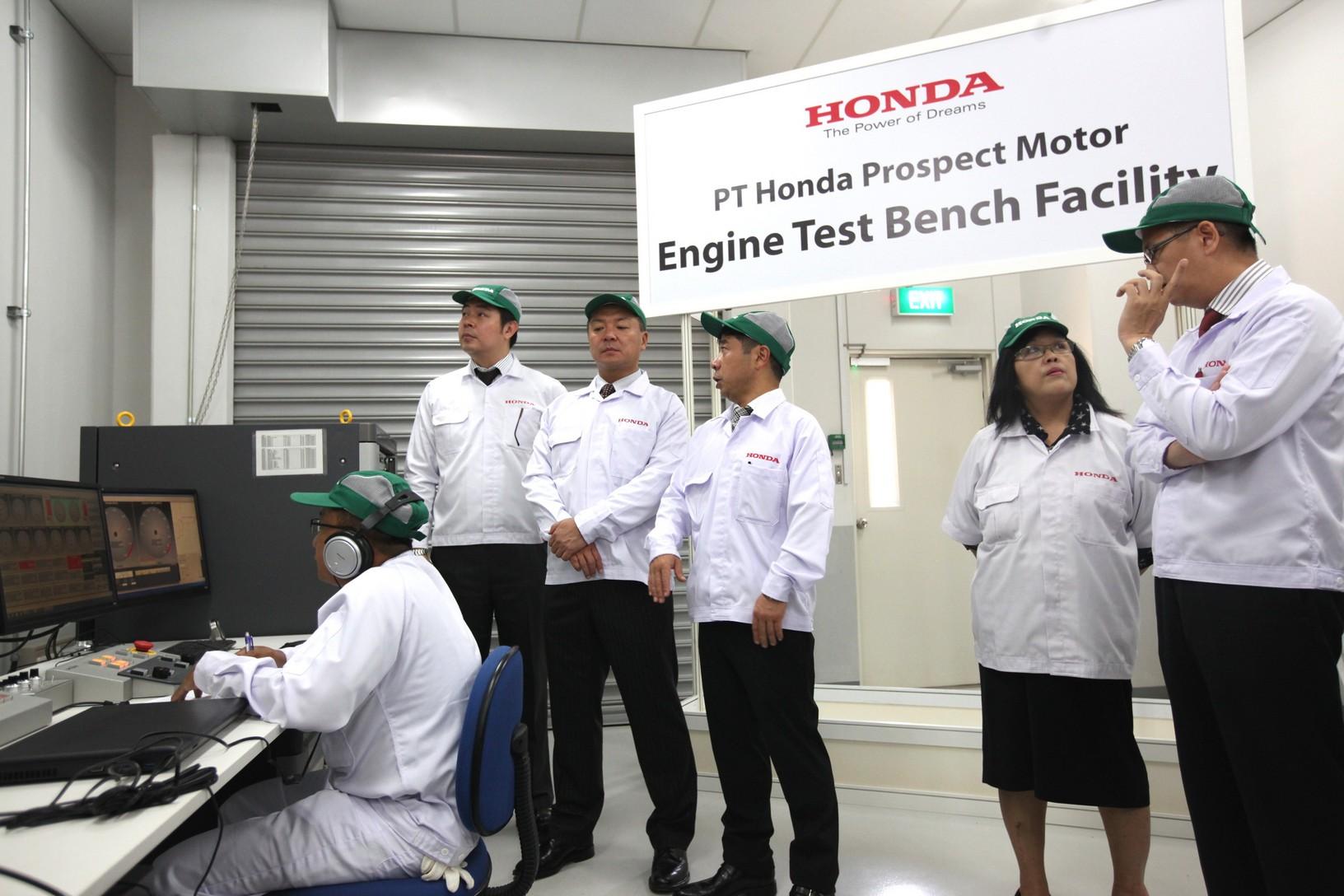 Engine test facility Honda Indonesia