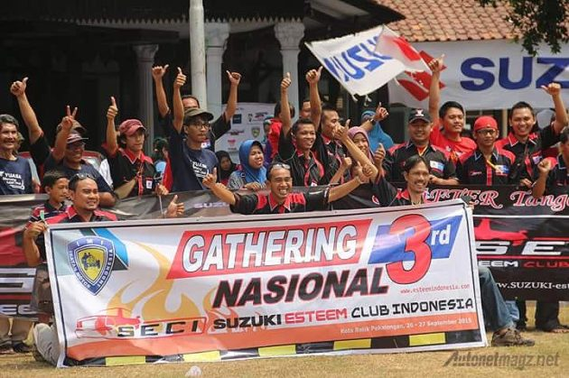 SECI Gathering Nasional 4 Pekalongan Suzuki Esteem Club Indonesia