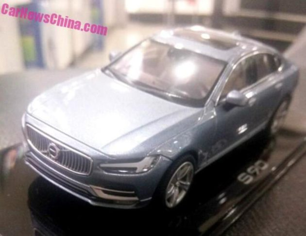 Volvo-S90-2016-diecast-scale-model-front