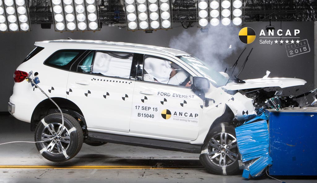 crash test ford everest