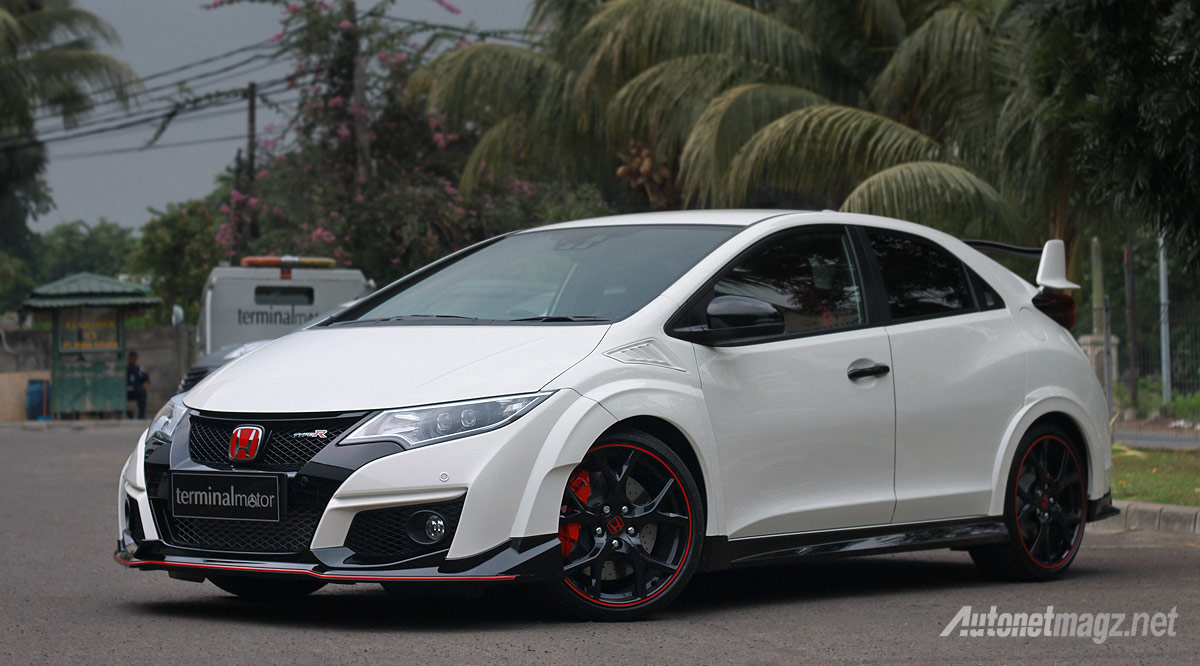 2016 Honda Civic Type R white