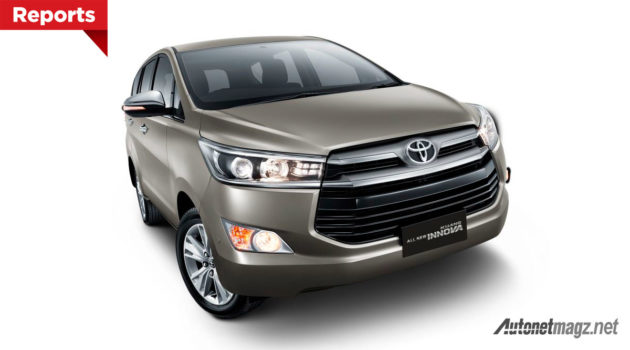 All New Toyota Kijang Innova Q Depan