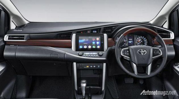 All New Toyota Kijang Innova Q dashboard