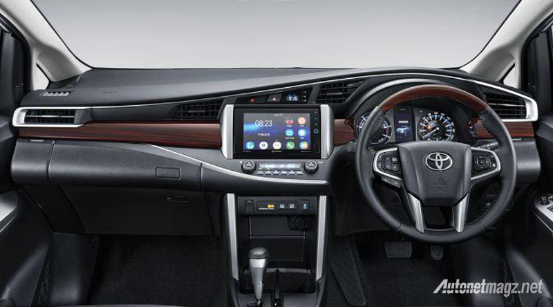 All New Toyota Kijang Innova Q dashboard