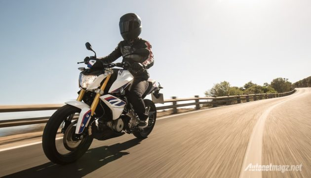 BMW-G310R-pearl-white-front