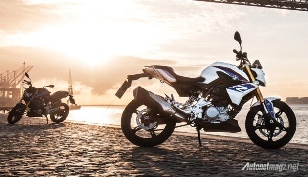 BMW-G310R-pearl-white-side