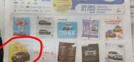 Diskon mobil baru di pameran Jakarta Auto Show JAS 2015