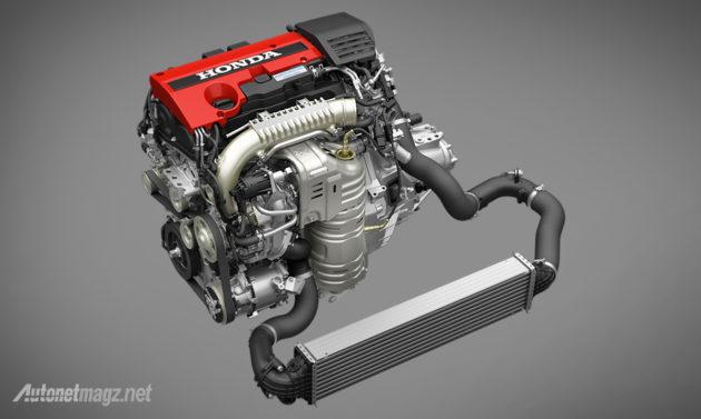 Mesin Honda Civic Type R 2015 2016 2.0 L VTEC Turbo EarthDream 2.000 cc