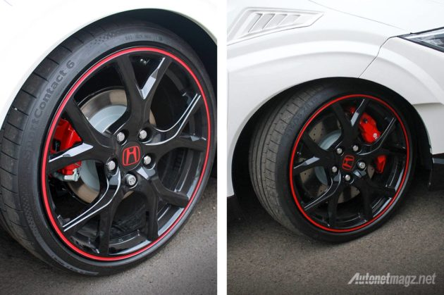 Velg ori oem Honda Civic Type-R 2015