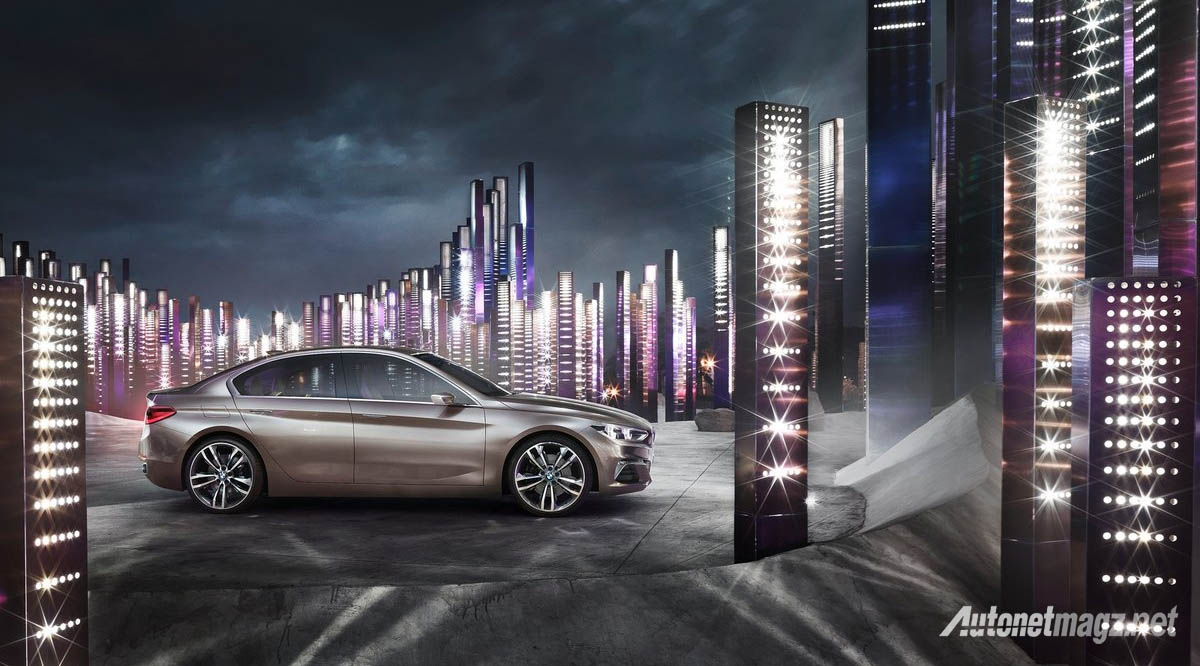 bmw compact sedan concept side