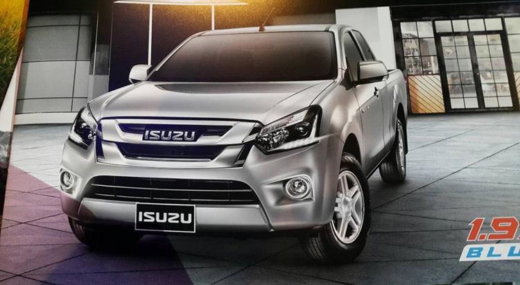 brosur isuzu d-max facelift thailand