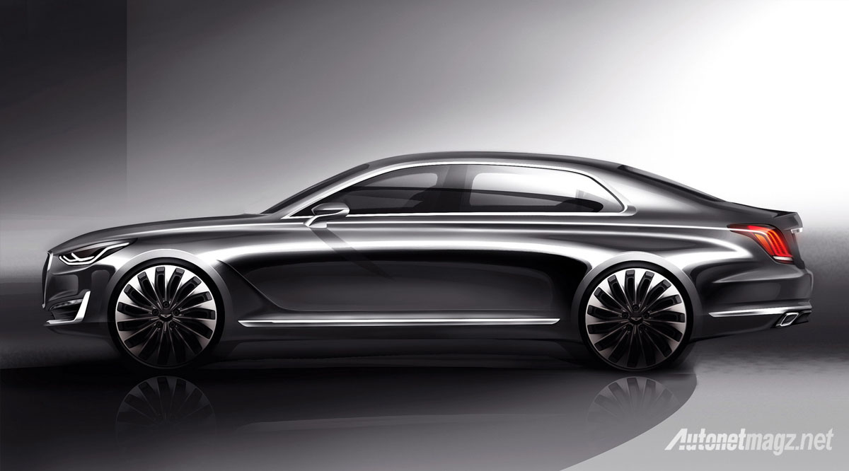 genesis g90 concept side