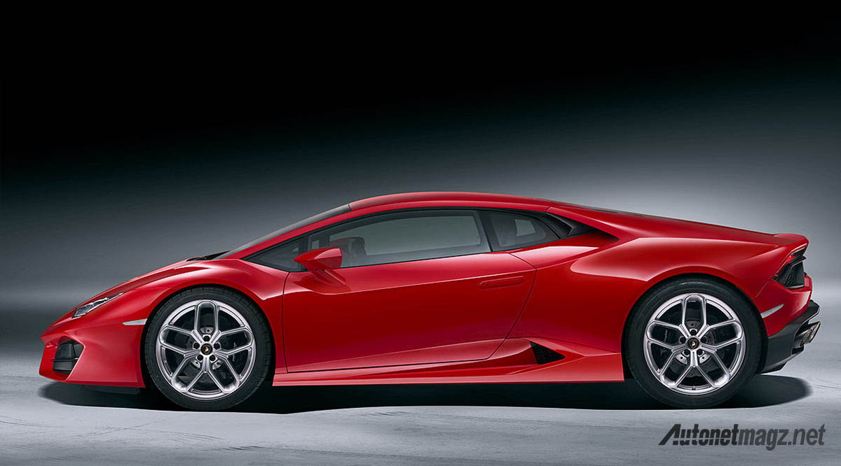 lamborghini huracan lp580-2 side