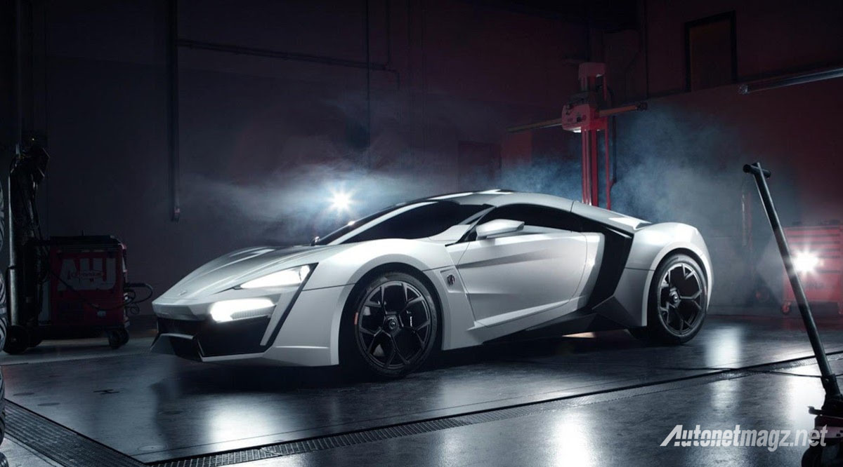 lykan hypersport side