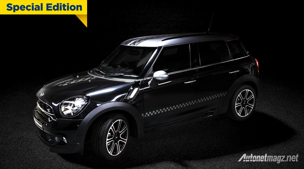 mini countryman knightsbridge edition