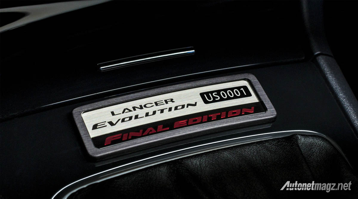 mitsubishi lancer evolution final edition unit pertama