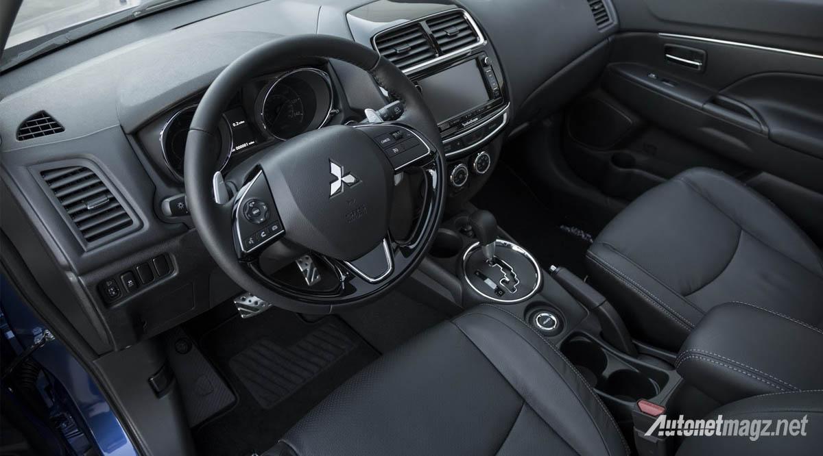 mitsubishi outlander sport facelift interior