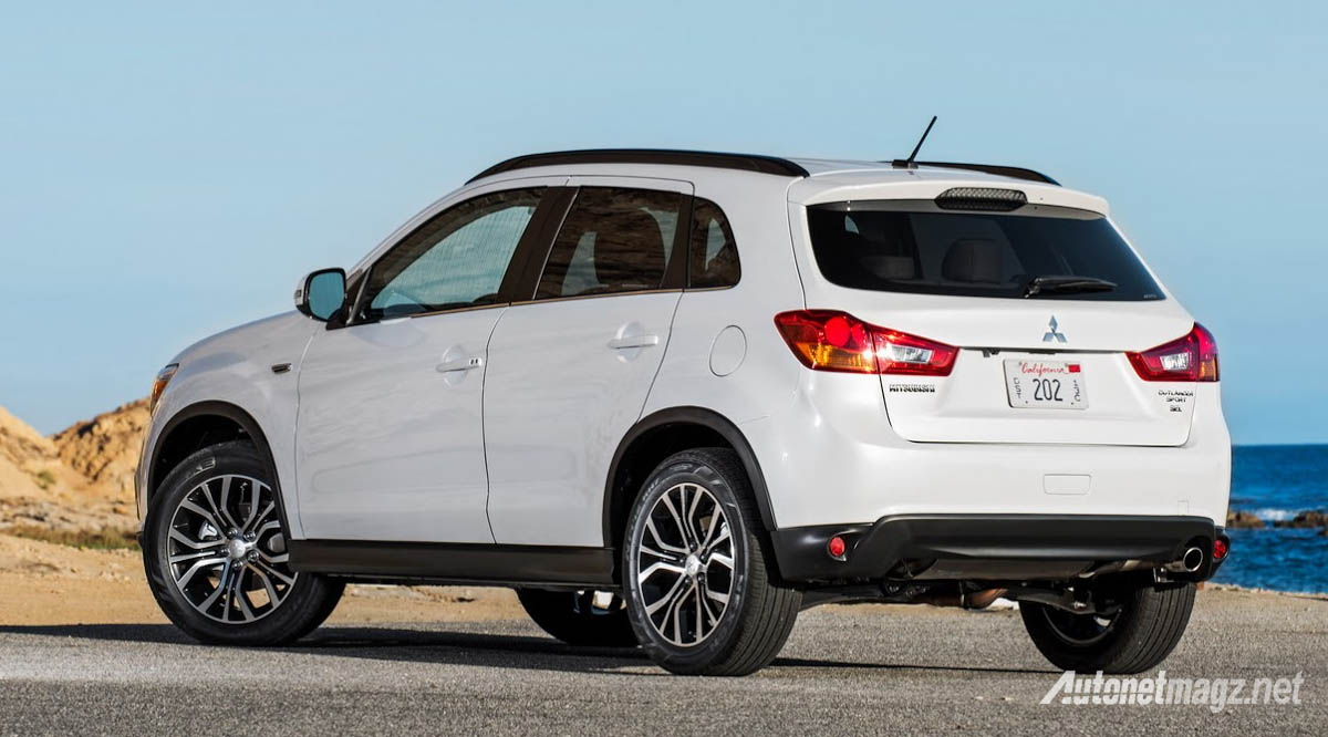 mitsubishi outlander sport facelift rear