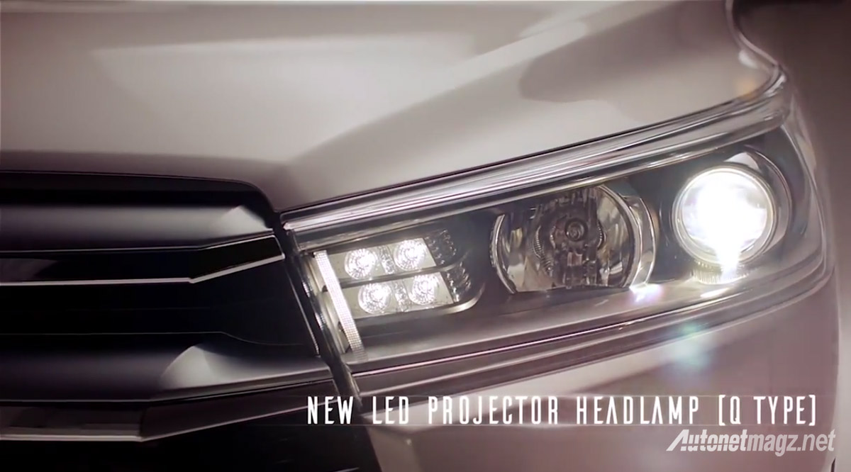 projector led headlamp all new toyota kijang innova