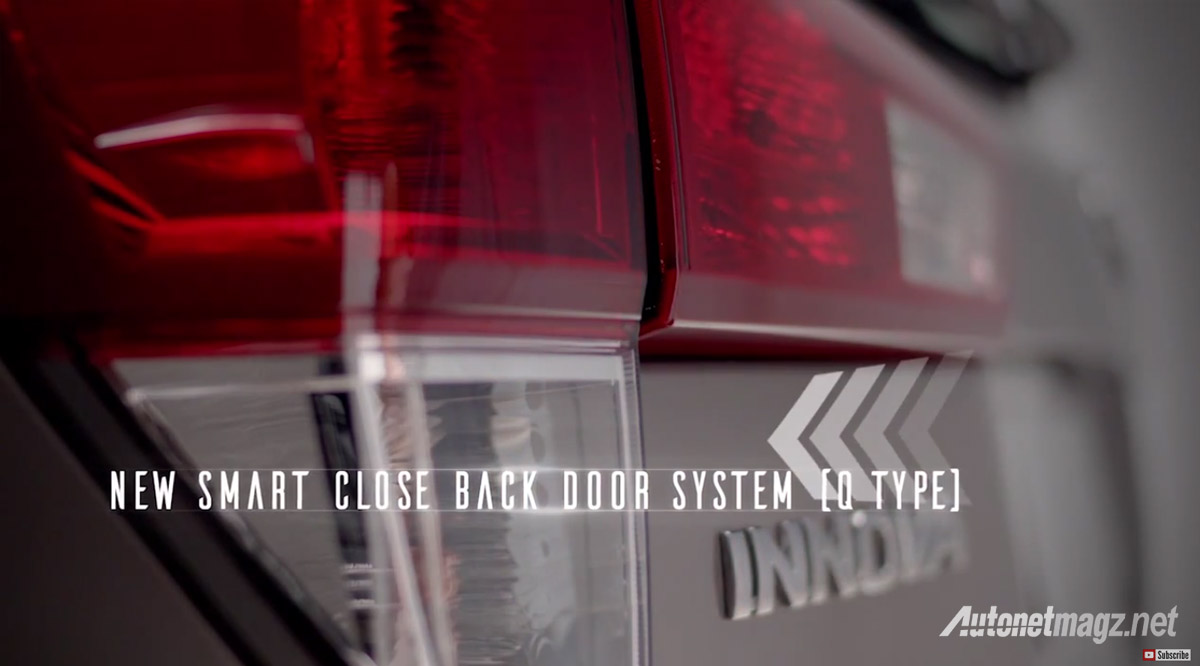 smart close back door all new Toyota Kijang Innova