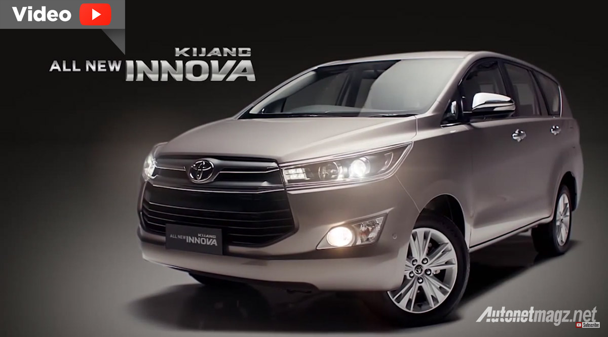 video all new Toyota Kijang Innova