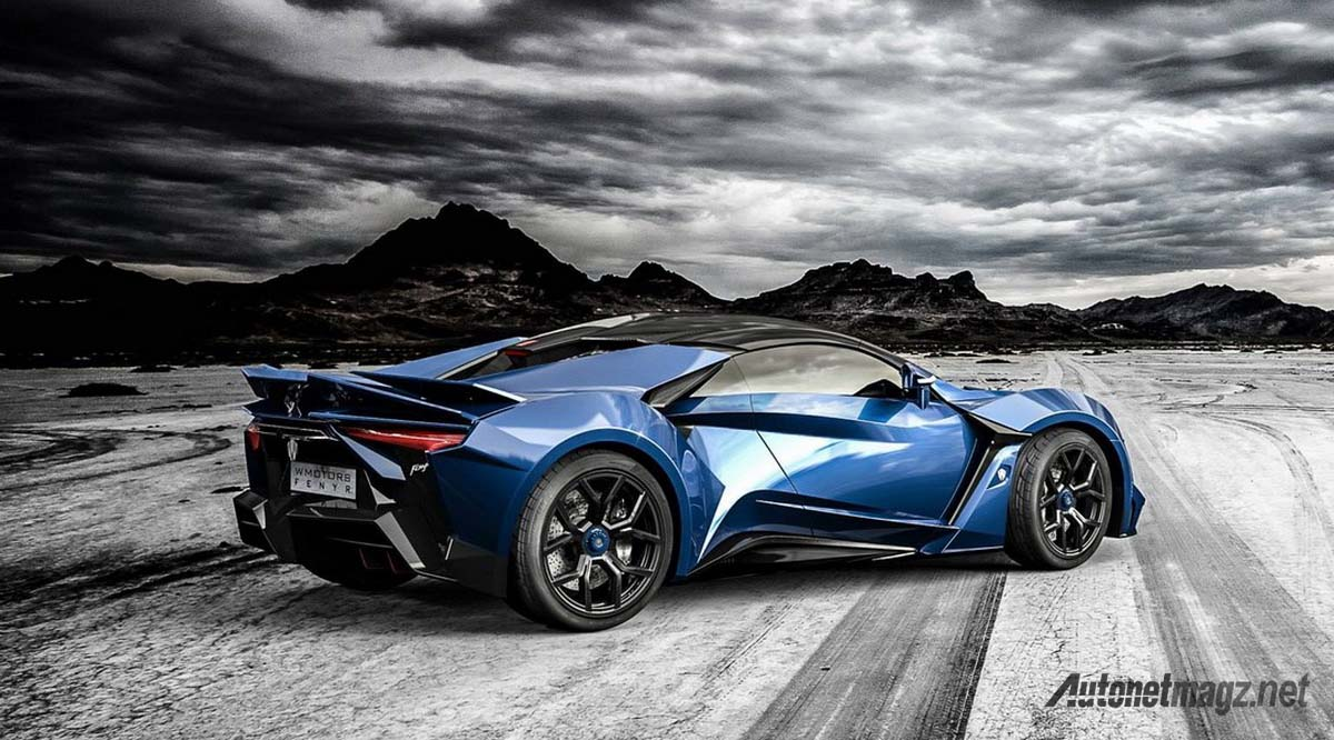 w motors fenyr supersport rear