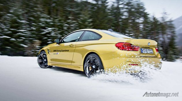 BMW M4 at Arjeplog Sweden for BMW Driving Experience 2016