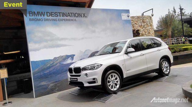 BMW X5 baru untuk event BMW Driving Experience 2016