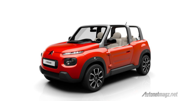 Citroen-E-Mehari-2016-red-front