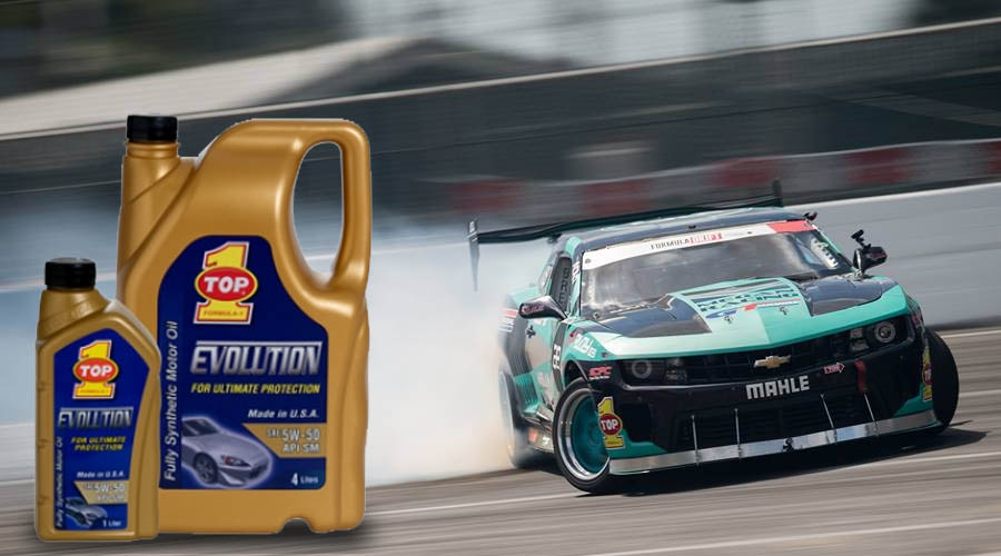 TOP 1 Evolution Fully Synthetic Motor Oil