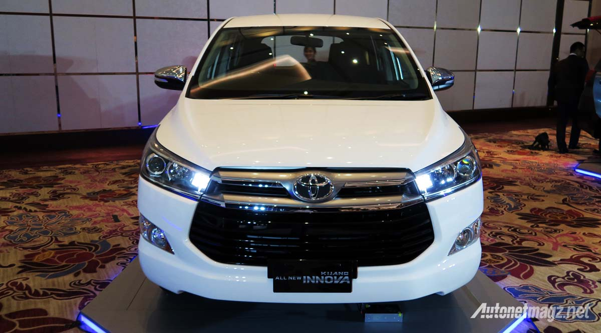 all new toyota kijang innova front