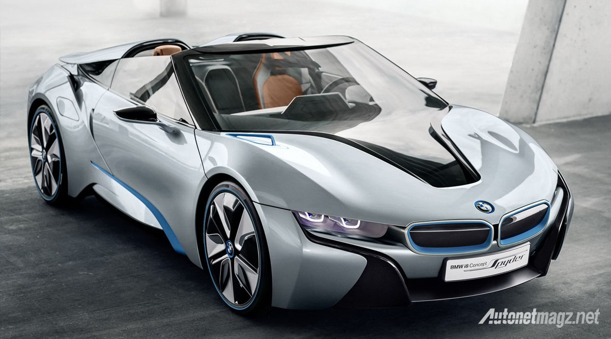 bmw i8 spyder concept photo