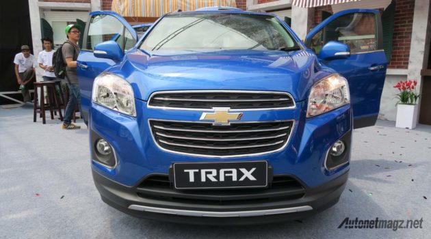 chevrolet trax indonesia front