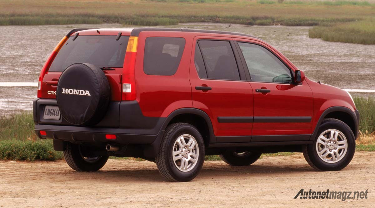honda cr-v 2003 rear