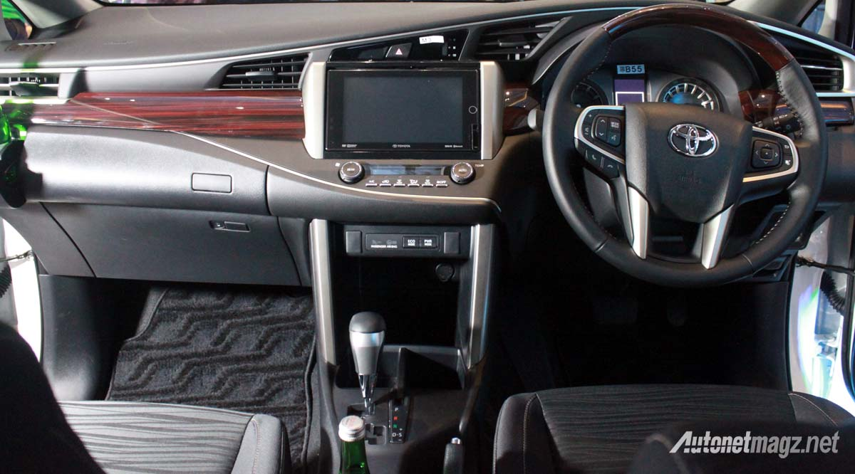 interior all new toyota kijang innova q