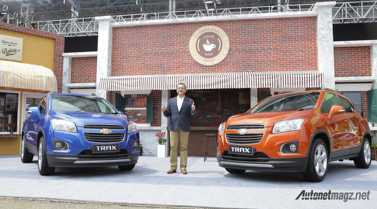 launching chevrolet trax indonesia