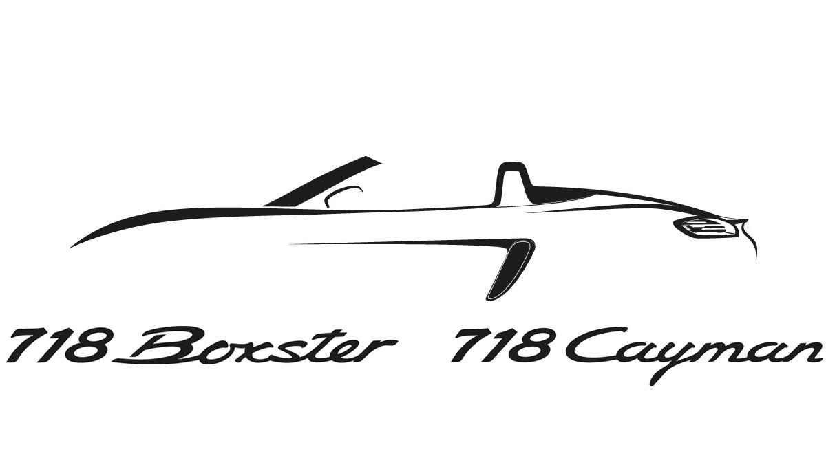 porsche 718 boxster dan 718 cayman