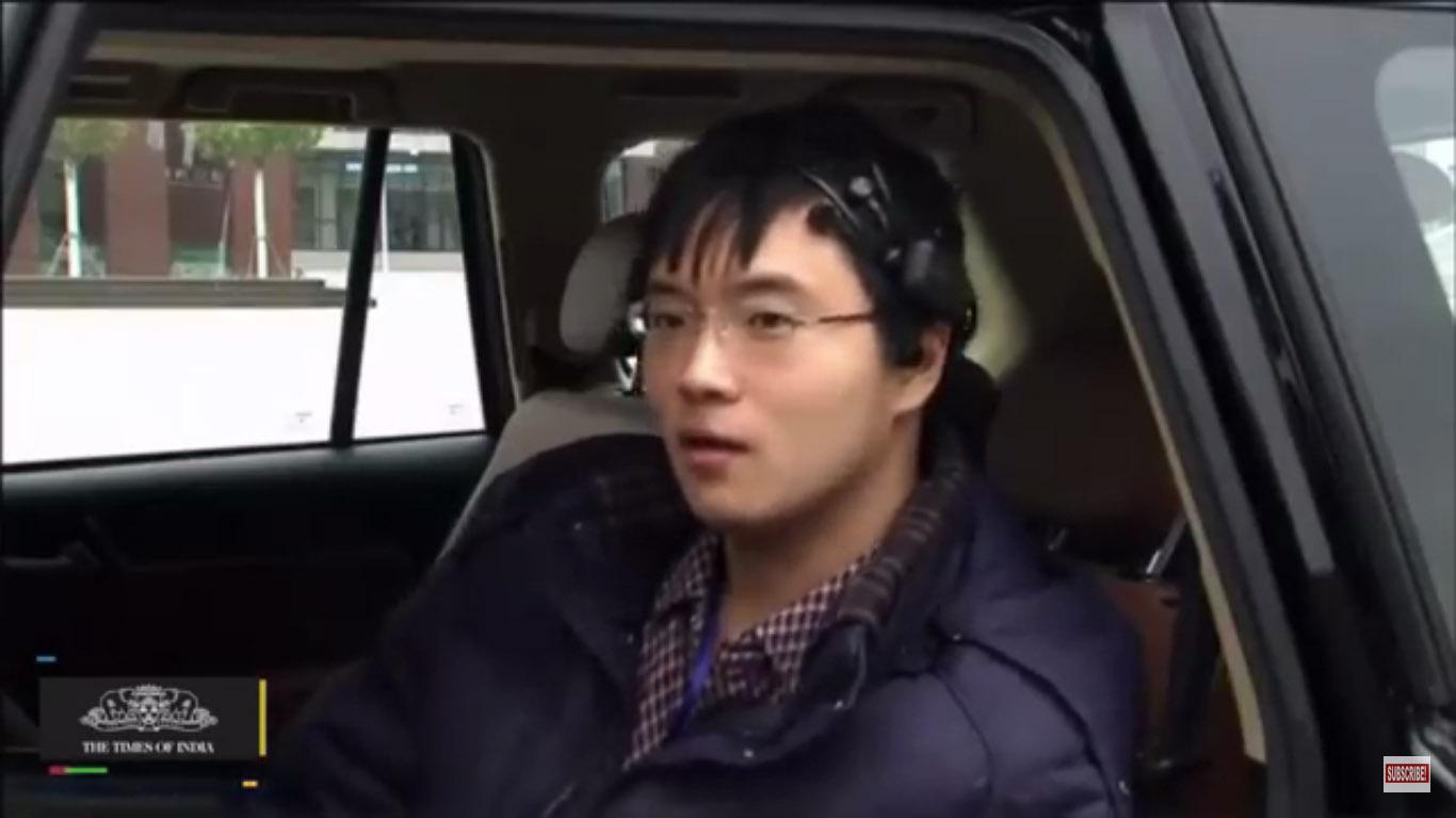 sensor pengontrol mobil kendali pikiran china