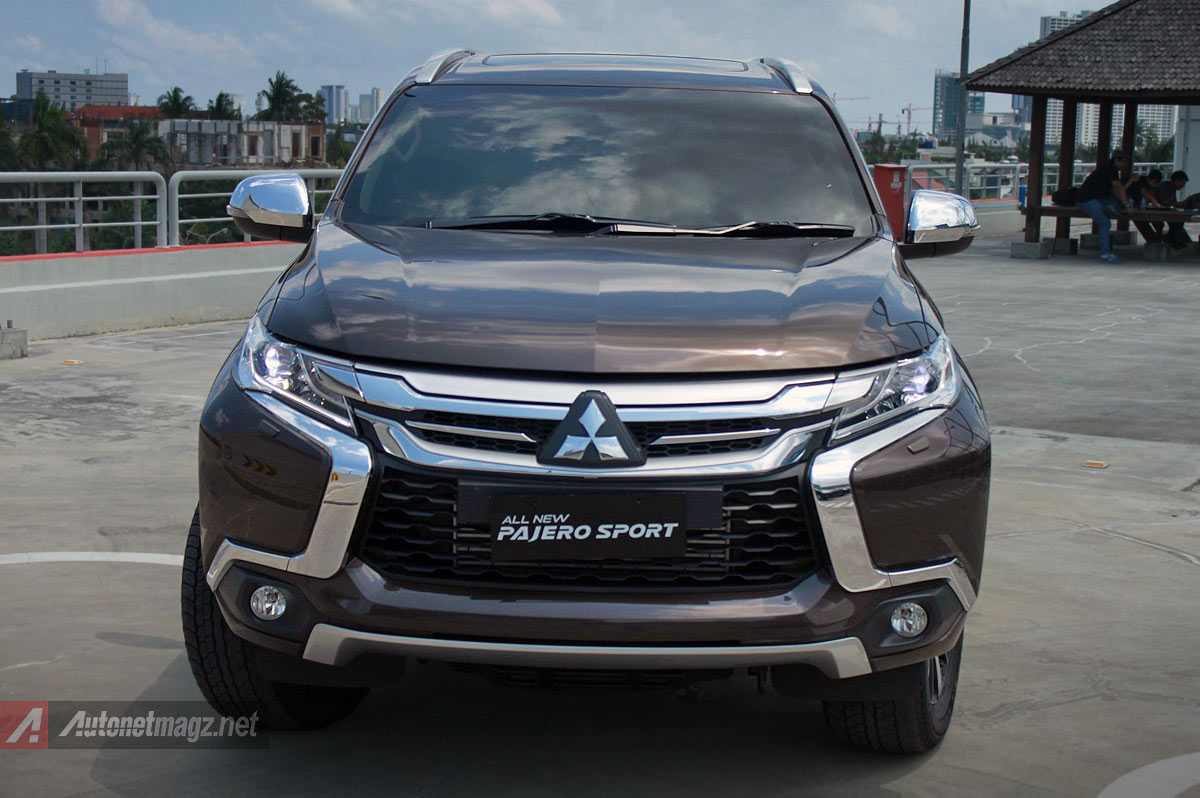 Berita, 2016 Mitsubishi All New Pajero Sport front fascia depan: First Impression Review Mitsubishi All New Pajero Sport Indonesia, Part 1 : Eksterior