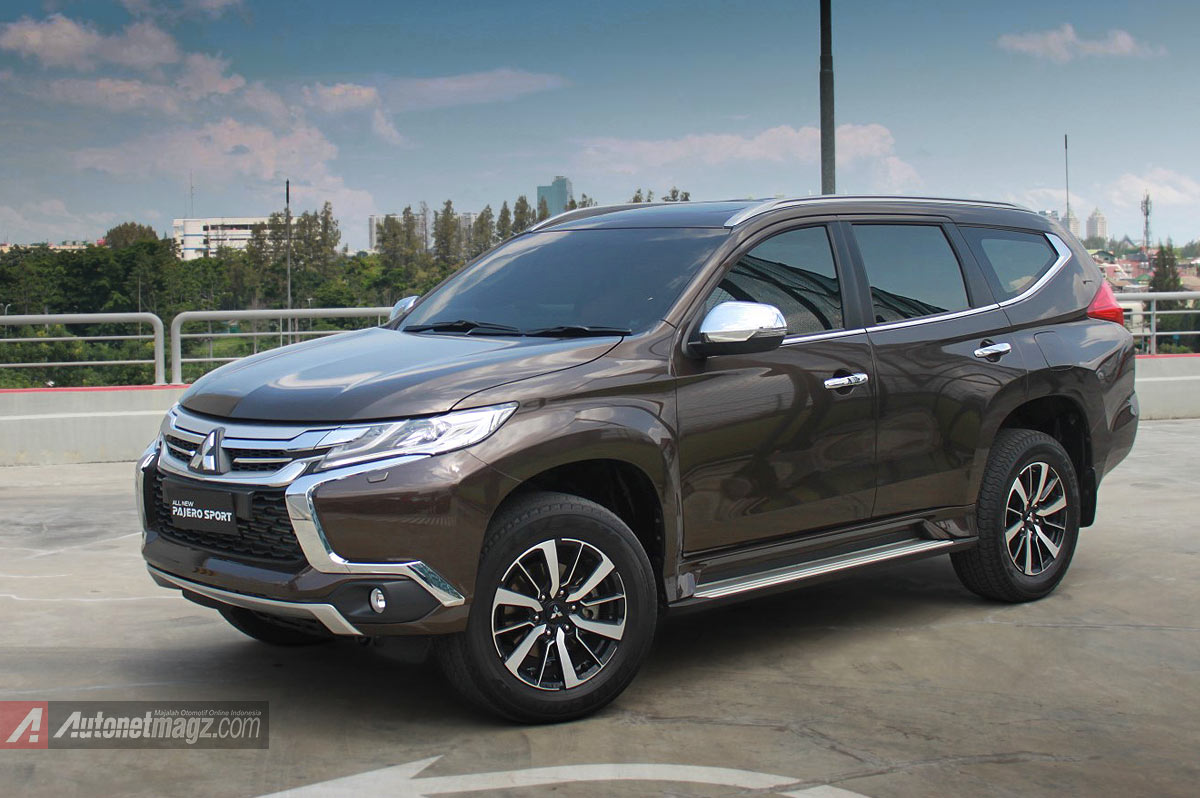 Berita, All New Pajero Sport Indonesia 2016: First Impression Review Mitsubishi All New Pajero Sport Indonesia, Part 1 : Eksterior