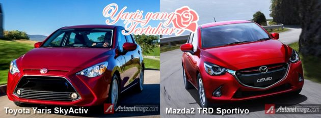 Comparison-Toyota-Yaris-Sedan-vs-Mazda-2-SkyActiv