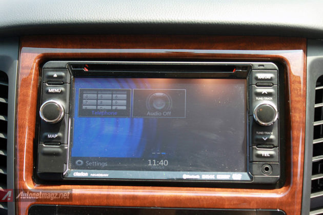 Head unit audio All New Pajero Sport baru 2016