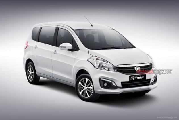Kembaran Suzuki Ertiga akan dibuat oleh Proton MPV