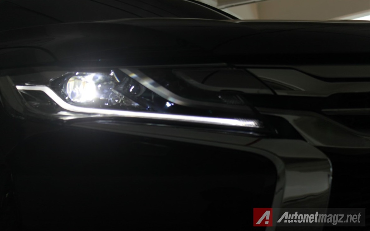Berita, Pajero-Sport-Indonesia-lights: First Impression Review Mitsubishi All New Pajero Sport Indonesia, Part 1 : Eksterior