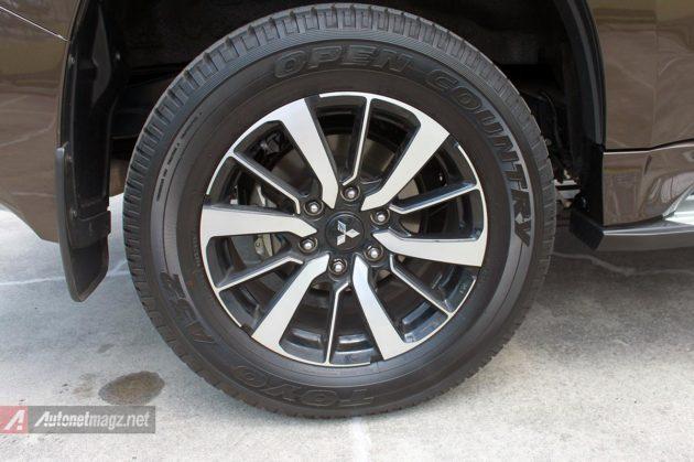 Rem belakang cakram Mitsubishi All New Pajero Sport baru 2016